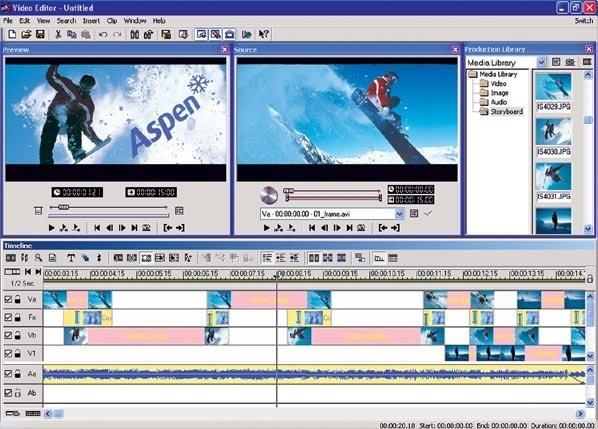 скачать программу для монтажа видео для Windows Xp - фото 7
